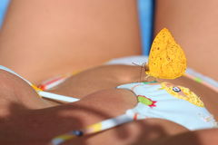 Butterfly and woman 5