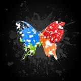 Butterfly9 ilustração do vetor