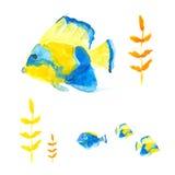 Butterflyfishes Illustration de Vecteur