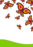 butterflys Иллюстрация штока