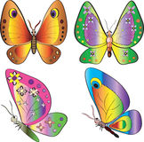 Butterflys Stock Image