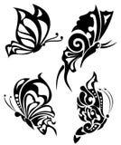 butterflys tatuaż Zdjęcia Stock
