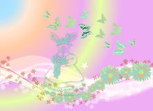 Butterflys tout environ 1 Images stock