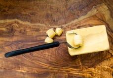 Butterlocken Stockbild