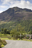 Buttermere stock afbeelding