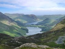 Buttermere and Crummock Water, Lake District Stock Photo