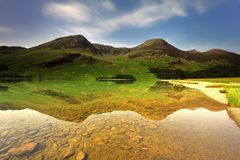 Buttermere Fells Royalty Free Stock Photos