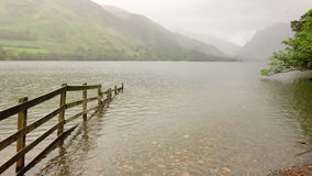 Buttermere with Fence Stock Photos