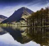 Buttermere. Buttermere reflection. The Lake District royalty free stock photos