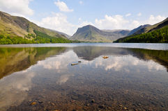 Buttermere summer days Royalty Free Stock Images