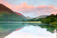 Buttermere sunrise Stock Photo