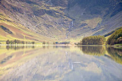 Buttermere sunshine Royalty Free Stock Photo