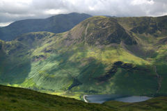 Buttermere Valley Stock Image