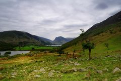 Buttermere Valley Stock Images
