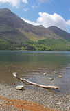 Buttermere, view of lake and fells Royalty Free Stock Photos