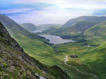 Buttermere and Warnscale Bottom, Lake District Stock Image
