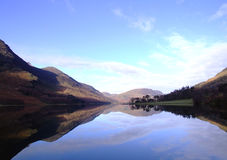 Buttermere water Royalty Free Stock Photo