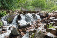 Buttermere Waterfall Stock Photography