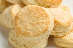Buttermilch-Biskuite Stockfotos