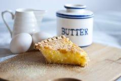 Buttermilch-Schach-Torte stockfoto