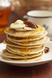 Buttermilchpfannkuchen Lizenzfreie Stockfotografie