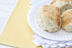 Buttermilk Biscuits Stock Photos