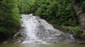 Buttermilk Falls. Finger Lakes Area - New York stock video