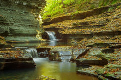 Buttermilk falls state park Royalty Free Stock Photo
