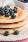 Buttermilk Pancakes Stock Photos