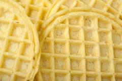 American Buttermilk Waffles Stock Photo