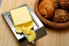 Butternahaufnahme Stockfoto