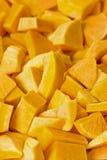 Butternut frais découpé en tranches Photo libre de droits