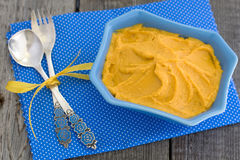 Butternut hummus Royalty Free Stock Photo