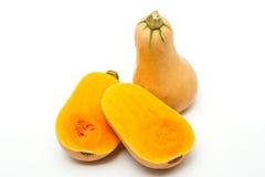 Butternut. A kind of pumpkin Stock Photos