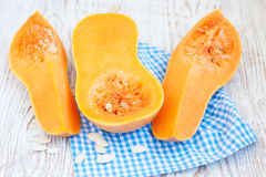 Butternut pumpkin Royalty Free Stock Photos