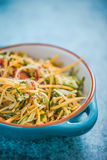 Butternut salad, vibrant and healthy food Royalty Free Stock Images