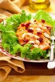 Butternut squash salad Royalty Free Stock Image