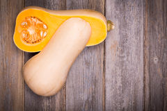 Butternut squash vintage Royalty Free Stock Photography