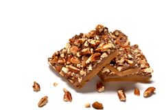 Butternut toffee Royalty Free Stock Image