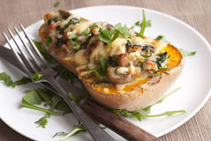 butternutsquash Royaltyfria Foton