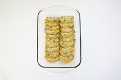 Butternutsquash bakar Royaltyfria Bilder