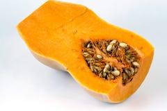 Butternutsquash (Cucurbitamoschataen) Arkivbild