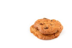 Butterscotch chocolate chip cookies Royalty Free Stock Photography
