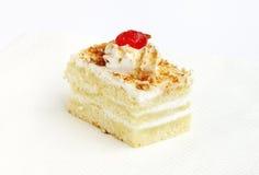 Butterscotch ciasto Zdjęcia Stock