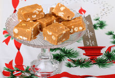 Butterscotch Fudge Stock Photo