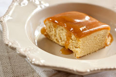 Butterscotch Pudding royalty free stock images