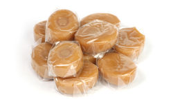Buttertoffeesüßigkeit Lizenzfreies Stockfoto