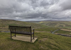 Buttertubs bench Stock Image