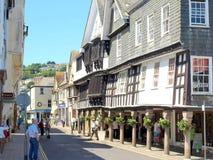 The Butterwalk, Dartmouth, Devon Stock Photography