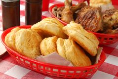 Buttery biscuits Royalty Free Stock Photos